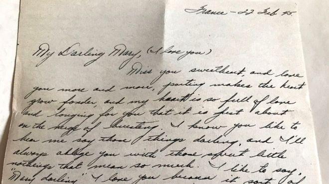Эти письма, ставшие настоящей семейной реликвией, полны надежды и любови