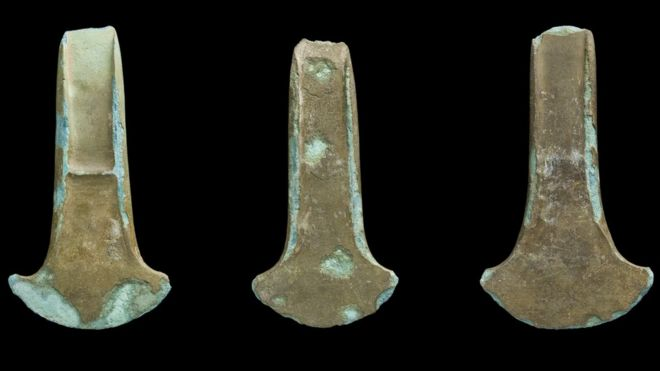 Early Bronze Age axes found in Llanover deemed treasure - BBC News a03009344b0