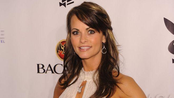 Karen McDougal, ex modelo de la revista Playboy