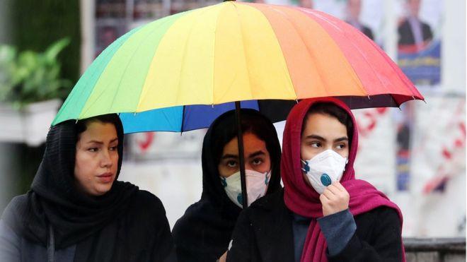 Perempuan di Iran, virus corona