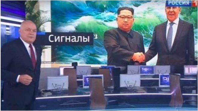 Nga, Kim Jong-un
