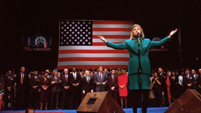 Hillary Clinton waxay ku dhawaatay in loo doorto madaxweynaha Mareykanka