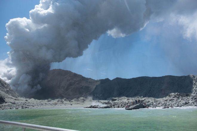 بركان وايت أيلاند