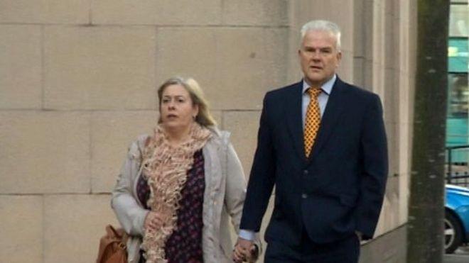 Хелен Логинс с мужем Андрисом
