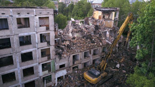 снос пятиэтажек по программе реновации новости