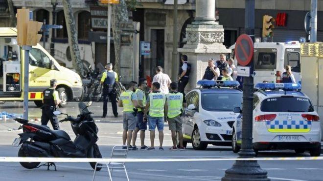 خنثی شدن حمله دوم در پی کشته شدن ۱۳ نفر در بارسلون
