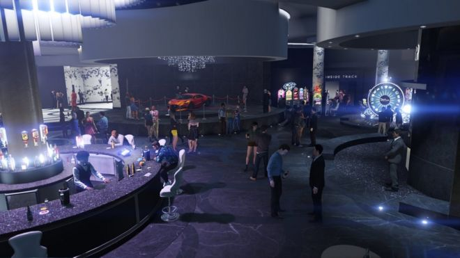 Grand Theft Auto's Diamond Casino lets cash be turned into