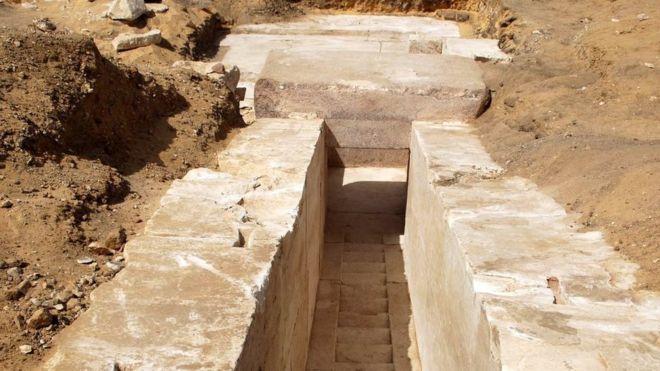 Escavações de ruínas