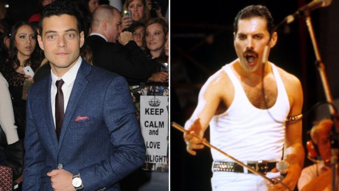Rami Malek First Look At Mr Robot Star As Freddie Mercury In Queen