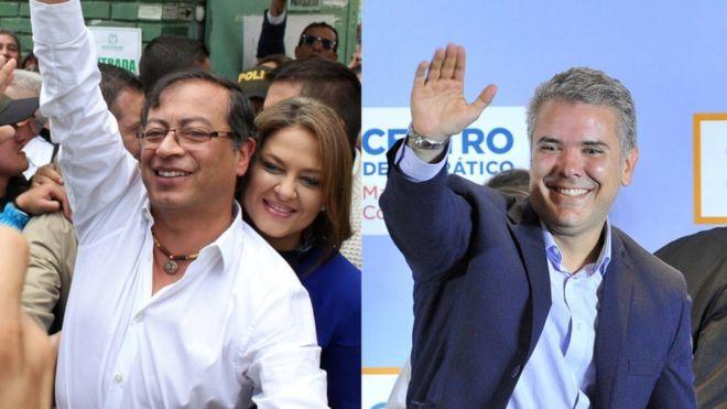 COLOMBIA: C�mo las elecciones presidenciales en Colombia reflejan una