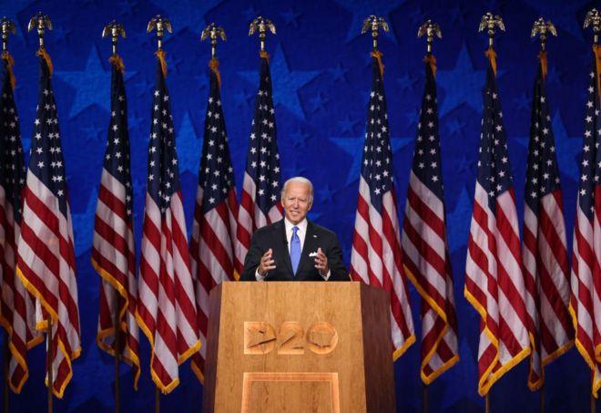 DNC 2020: Joe Biden convention speech fact-checked