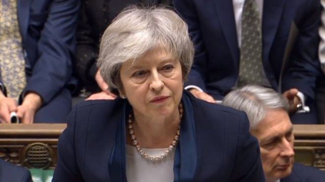 Brexit. El Parlamento británico rechaza por una amplia mayoría el acuerdo negociado por Theresa May para la salida de Reino Unido de la Unión Europea