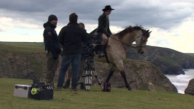 Лошади, используемые в съемках Poldark