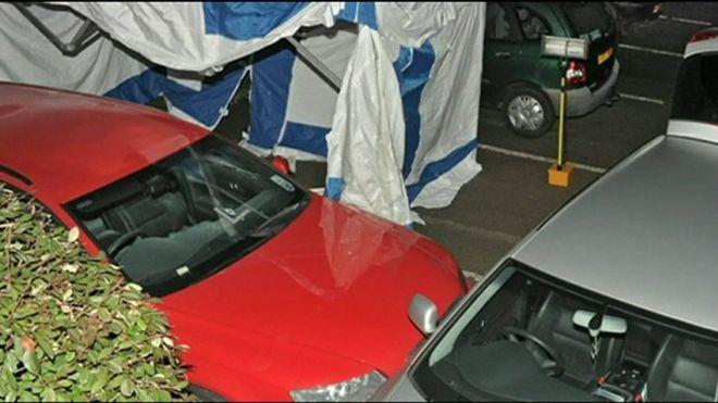 Автомобиль Энтони Грейнджер был застрелен в