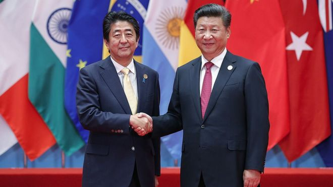 Nhật Bản, Trung Quốc