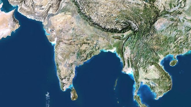 India To Ban Unofficial Maps And Satellite Photos BBC News - Whole world satellite map