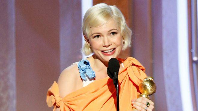 Golden Globe Awards: Michelle Williams praised for women