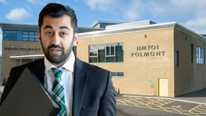Humza Yousaf and YOI Polmont