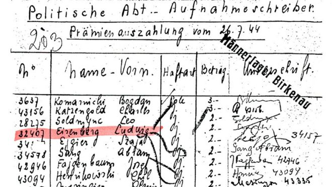 Trecho de documento com nome de Sokolov