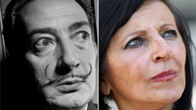 Salvador Dali: DNA test proves woman is not his daughter - BBC News