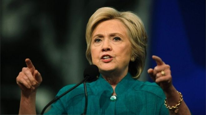 us election hillary clinton poised to announce running mate bbc news