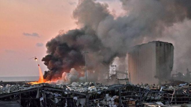 пожар в районе склада