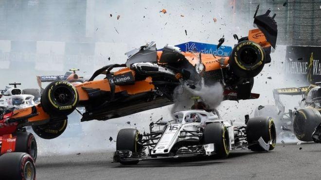 El accidente de Charles Leclerc