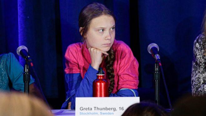 A ativista Greta Thunberg e outras 15 crianças de todo o mundo apresentaram queixa oficial sobre a crise climática ao Comitê dos Direitos da Criança das Nações Unidas