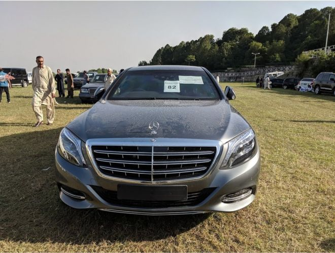 Auction Cars For Sale >> Pakistan Bidders Flock To Pm Imran Khan S Car Auction Bbc News