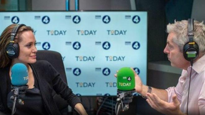 أنجيلينا جولي ل IRAQIBBC: قد أخوض معترك السياسة