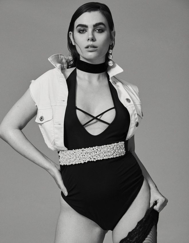 37db974d52170 Charli Howard  Is this really a  plus-size  model  - BBC News