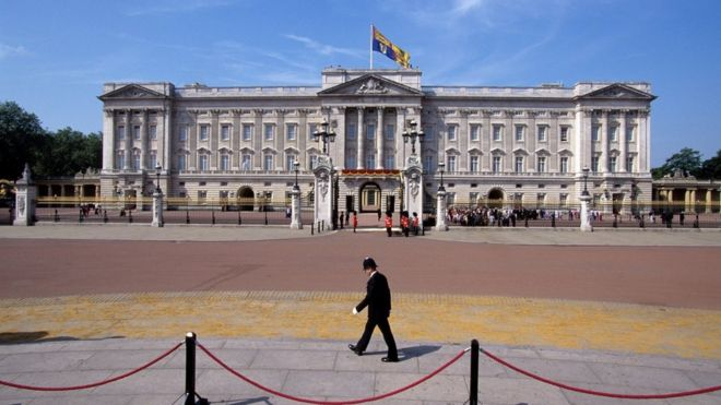 buckingham palace breach man arrested in grounds bbc news