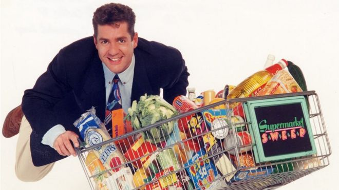 I was a contestant on Dale Winton's Supermarket Sweep' - BBC
