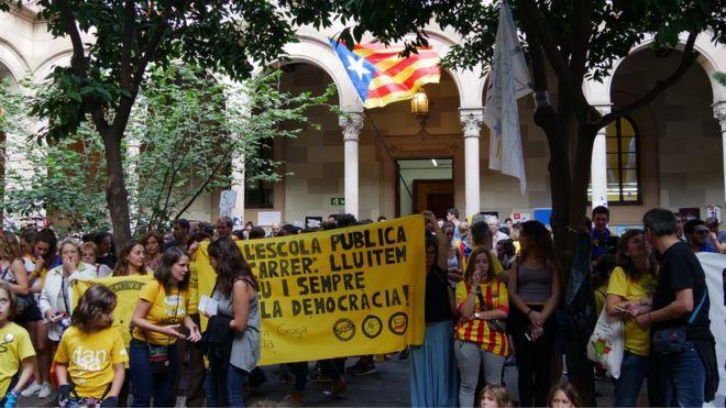Katalonyada turizm geriledi