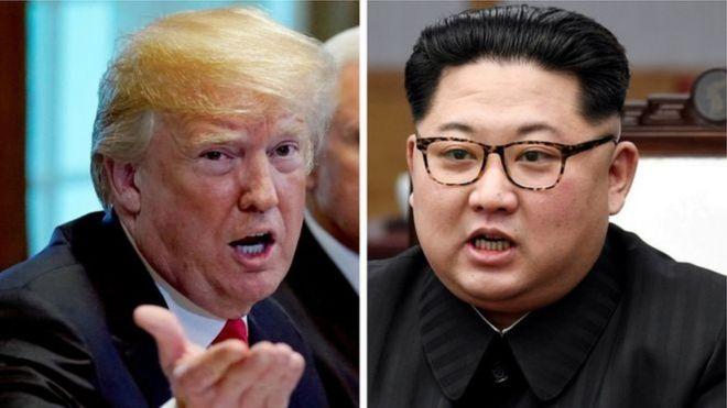 Ni mara ya kwanza kwa Rais wa Marekani Donald Trump na mwenzake wa Korea Kaskazini Kim Jong-un kukutana