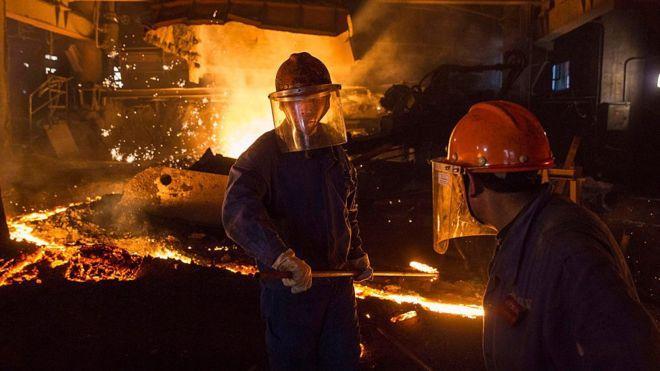 Китайские металлурги