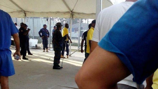 تلاش پلیس پاپوآ گینه نو برای اخراج پناهجویان مانوس