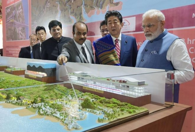 Image result for bullet train in india