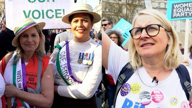 Women Brexit campaigners