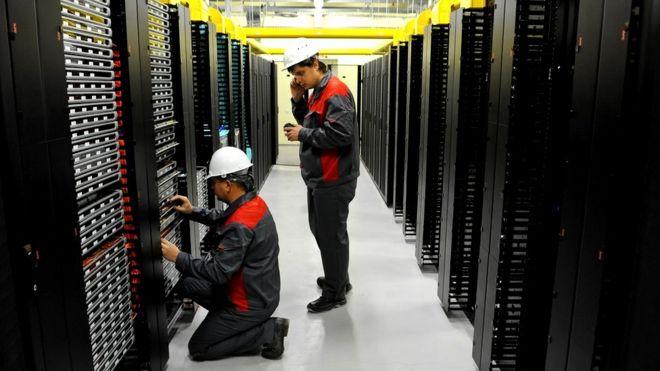 Серверы интернет-провайдера