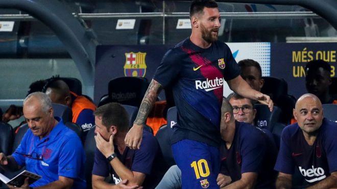 Barcelona za ta sakar wa Messi mara, Neymar na tsaka mai