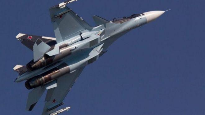 المقاتلة الروسية سوخوي 35 متعددة المهام