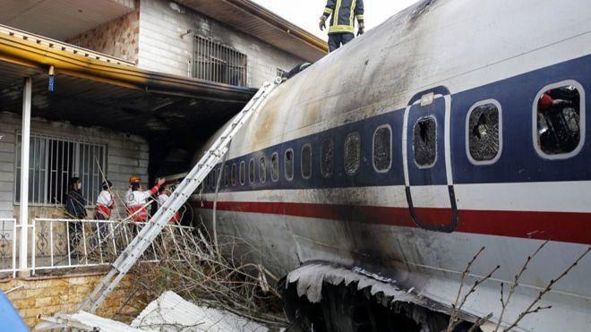 Vụ tai nạn xảy ra ở tỉnh Alborz