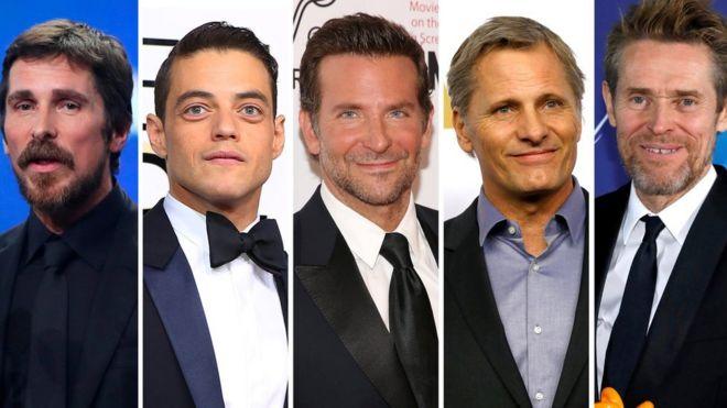 Лучший актер номинанты на Оскар