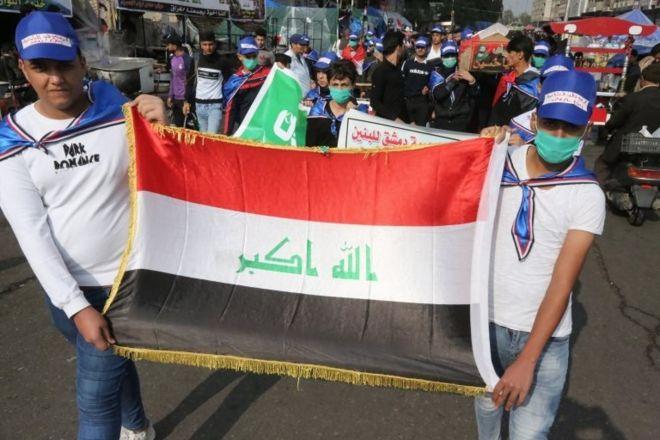 اعتراضات عراق؛ تجمع هزاران معترض در بغداد و جنوب کشور