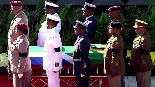 Raia wa Afrika Kusini wamuaga Winnie Mandela