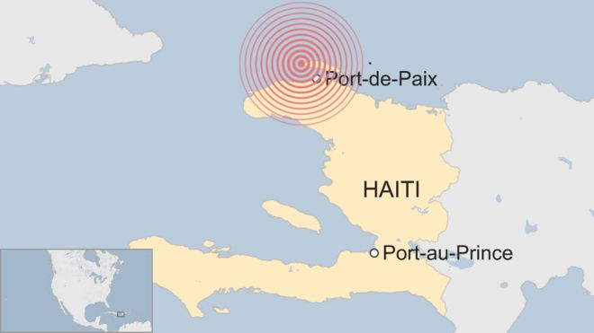 Haiti Struck By Deadly Earthquake Bbc News