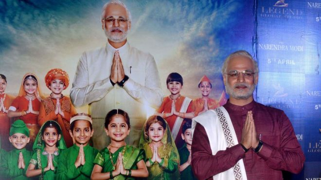 Vivek Oberoi during the trailer launch of his movie PM Narendra Modi in Mumbai