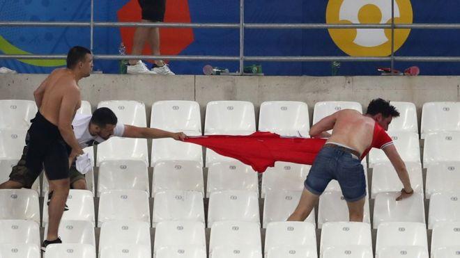 Press review: Blame split on Marseille football violence