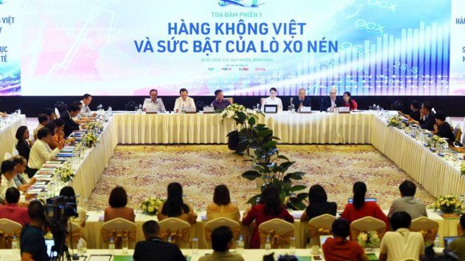 Tham gia hội nghị có cả đại diện một số hãng hàng không và du lịch tại Việt Nam